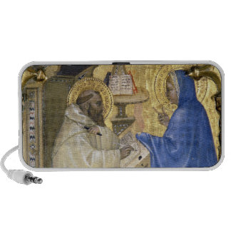 The Virgin appearing to St. Bernard, detail from a Laptop Speaker