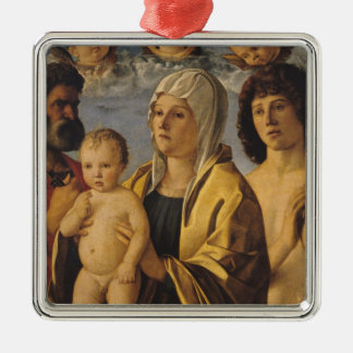 The Virgin & Child with St. Peter & St. Metal Ornament