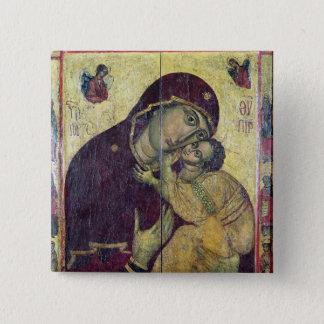 The Virgin Eleousa, from Nessebar Button