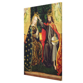 The Virgin Enthroned, from the Dome Altar, 1499 Canvas Print
