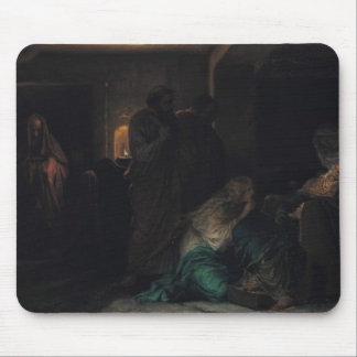 The Virgin Fainting, 1856 Mouse Pad