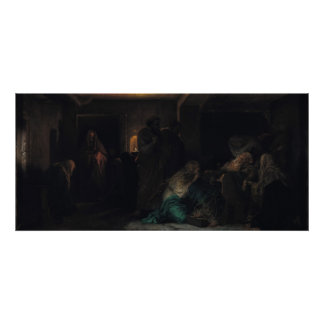The Virgin Fainting, 1856 Poster
