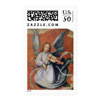 'The Virgin in Glory', 1524, painting Postage