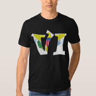 The Virgin Islands (VI) & Puerto Rico (PR) Shirt