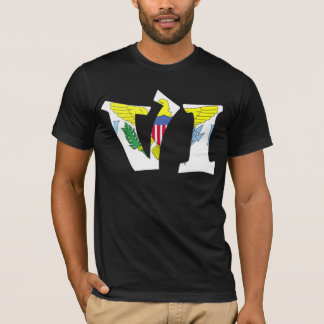 The Virgin Islands (VI) & Puerto Rico (PR) T-Shirt