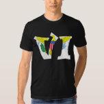 The Virgin Islands (VI) & Puerto Rico (PR) T-shirts