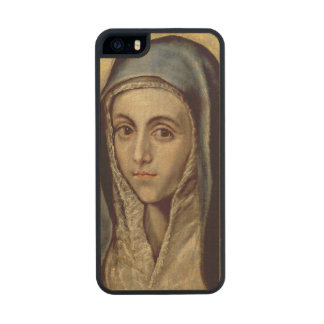 The Virgin Mary, c.1594-1604 Carved® Maple iPhone 5 Case