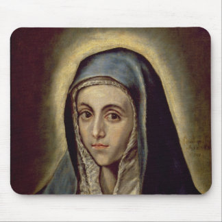 The Virgin Mary, c.1594-1604 Mouse Pad