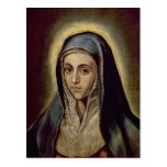 The Virgin Mary, c.1594-1604 Post Cards