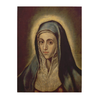 The Virgin Mary, c.1594-1604 Wood Wall Decor