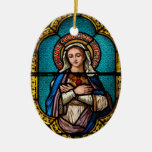 The Virgin Mary Christmas Tree Ornament