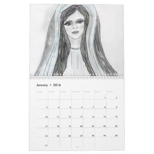 The Virgin Mary Collection 2011 Calendar