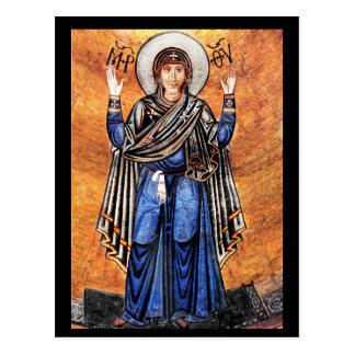 The Virgin Mary Oran Postcard