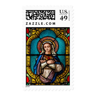 The Virgin Mary Postage Stamps