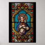 The Virgin Mary Print