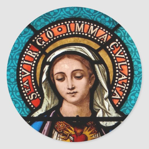 The Virgin Mary Stickers