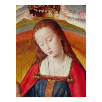 The Virgin Mary with her Crown Postcard