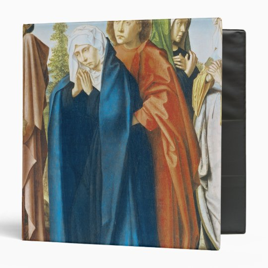 The Virgin Mary with St. John the Evangelist 3 Ring Binder