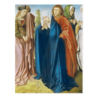 The Virgin Mary with St. John the Evangelist Postcards