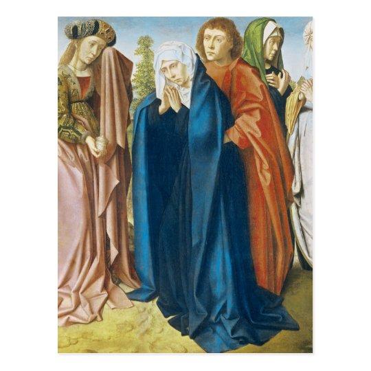 The Virgin Mary with St. John the Evangelist Postcard