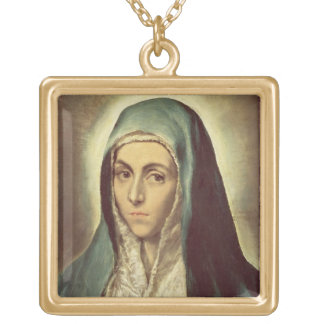 The Virgin Mourning (oil on canvas) Custom Jewelry