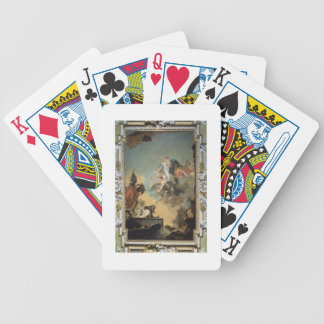 The Virgin of Carmel Giving the Scapula to the Ble Bicycle Playing Cards