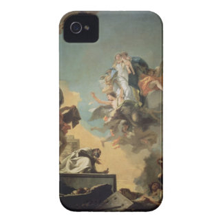 The Virgin of Carmel Giving the Scapula to the Ble iPhone 4 Cover