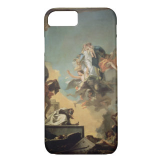 The Virgin of Carmel Giving the Scapula to the Ble iPhone 7 Case
