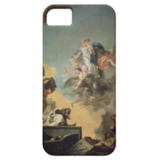 The Virgin of Carmel Giving the Scapula to the Ble iPhone SE/5/5s Case