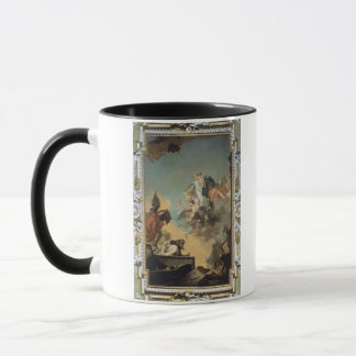 The Virgin of Carmel Giving the Scapula to the Ble Mug