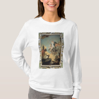 The Virgin of Carmel Giving the Scapula to the Ble T-Shirt