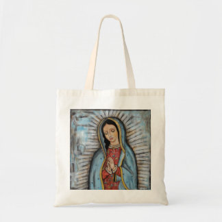 The Virgin of Guadalupe Canvas Bags