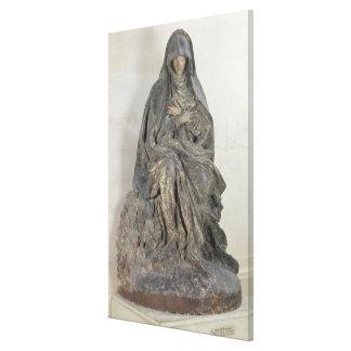 The Virgin of Sorrow 2 Canvas Print