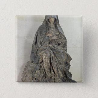 The Virgin of Sorrow Pinback Button