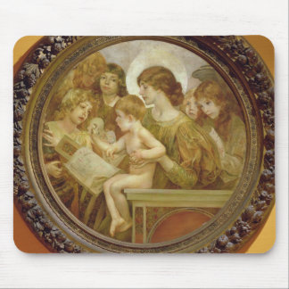 The Virgin of the Angels Mouse Pad