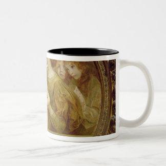 The Virgin of the Angels Two-Tone Coffee Mug