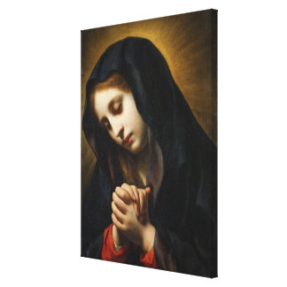 The Virgin of the Annunciation, c.1653-55 Canvas Print
