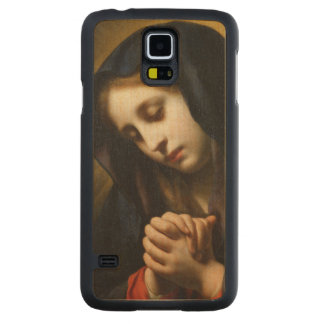 The Virgin of the Annunciation, c.1653-55 Carved® Maple Galaxy S5 Case
