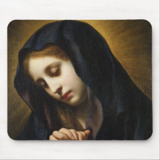 The Virgin of the Annunciation, c.1653-55 Mouse Pad
