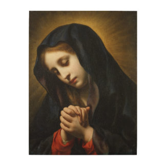 The Virgin of the Annunciation, c.1653-55 Wood Wall Art
