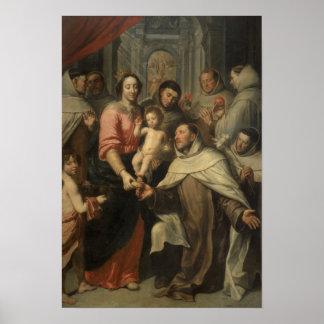 The Virgin of the Carmelites Poster
