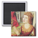 The Virgin of the Catholic Kings 2 2 Inch Square Magnet