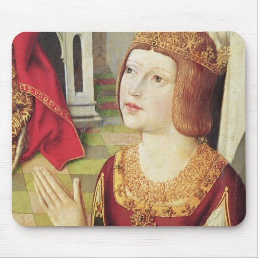The Virgin of the Catholic Kings 2 Mouse Pad