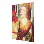 The Virgin of the Catholic Kings Canvas Print
