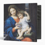 The Virgin of the Grapes, 1640-50 3 Ring Binder