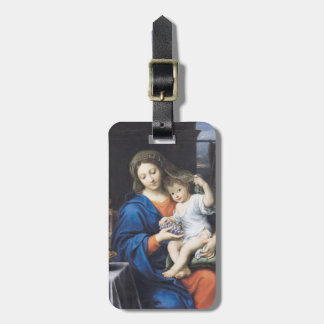 The Virgin of the Grapes, 1640-50 Travel Bag Tag