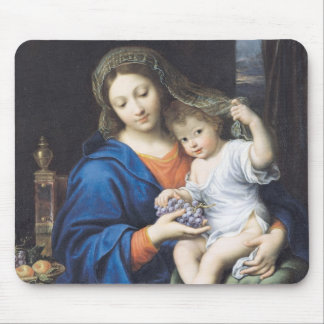 The Virgin of the Grapes, 1640-50 Mousepad