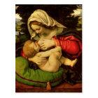 The Virgin of the Green Cushion, 1507-10 Postcard