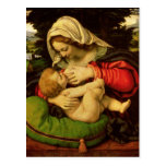 The Virgin of the Green Cushion, 1507-10 Post Cards
