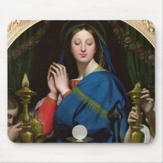 The Virgin of the Host, 1854 Mouse Pad